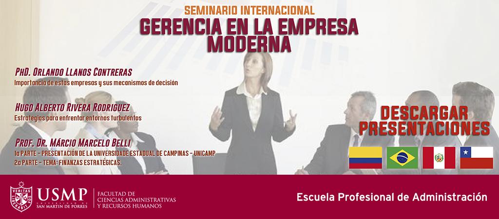 Presentaciones Gerencia Empresa Moderna