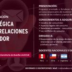 Afiche - Programa de Especializacion - Gestion estrategica de reclamo y relaciones con el consumidor