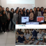Estudiantes beca 18 USMP Stembyme Telefonica Educacion Digital