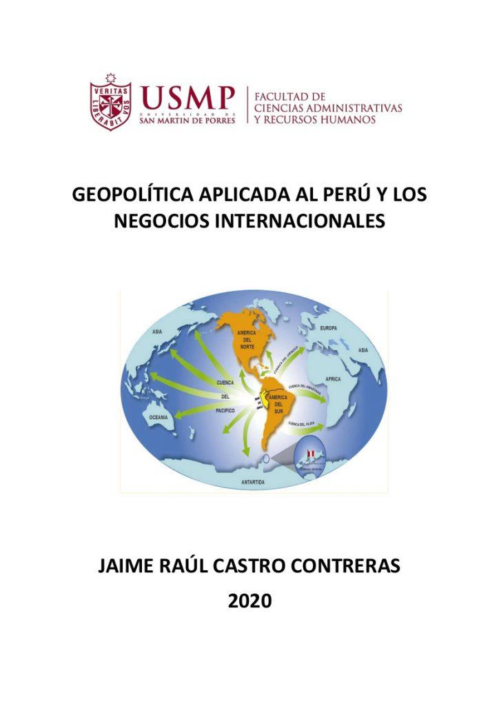 Geopolitica Aplicada A Los Negocios Internacionales Revista Digital De La Facultad De Ciencias Administrativas Y Rrhh